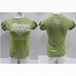 Sugarland shirt Large World Peace On Earth cotton